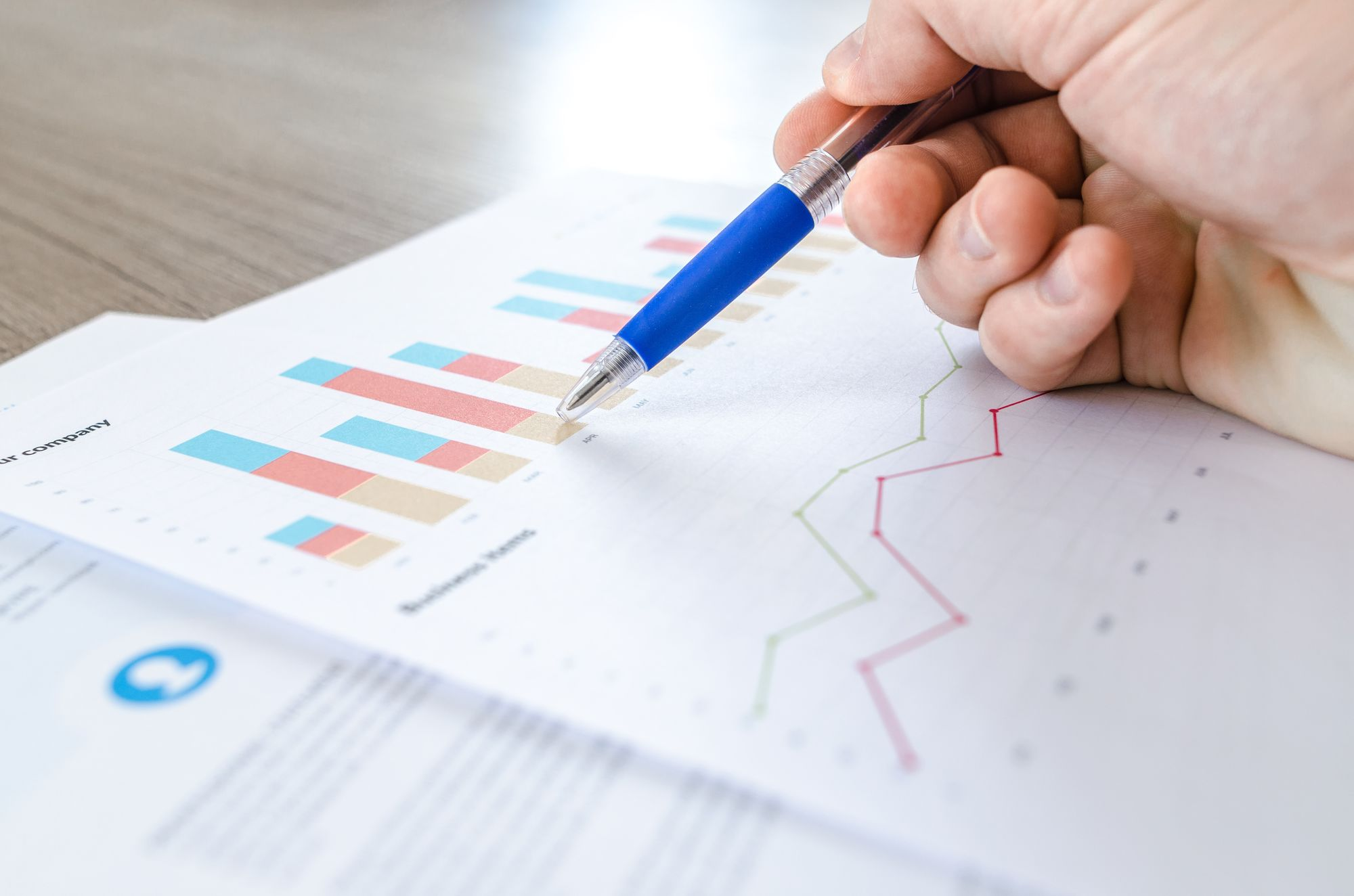 Diagrammauswertung von Big Data im Personalmanagement