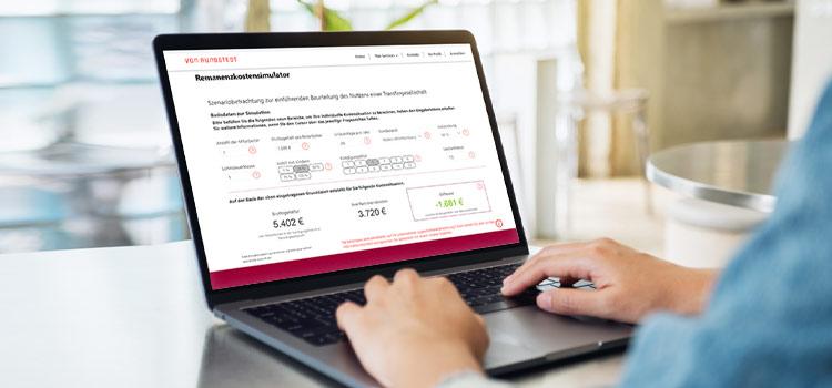 Remanenzkosten Rechner zur Bewertung einer Transfergesellschaft