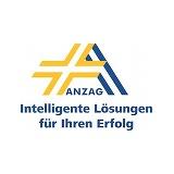 Das Logo von ANZAG - die Firma gehört zu den zufriedenen Kunden des Outplacement-Experten von Rundstedt.