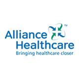 Das Logo von Alliance Healthcare - die Firma gehört zu den zufriedenen Kunden des Outplacement-Experten von Rundstedt.