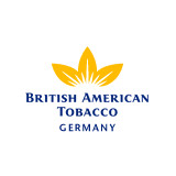 Das Logo von British American Tobacco Germany - die Firma gehört zu den zufriedenen Kunden des Outplacement-Experten von Rundstedt.