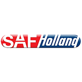 Das Logo von SAF Holland – die Firma gehört zu den zufriedenen Kunden des Outplacement-Experten von Rundstedt.
