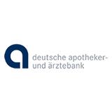 Das Logo Deutsche Apotheker- und Ärztebank - die Firma gehört zu den zufriedenen Kunden des Outplacement-Experten von Rundstedt.