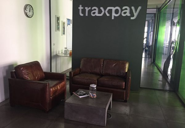 Das Büro des Start-ups Traxpay