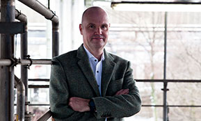 Frank Wolff nimmt die berufliche Veränderung in die Hand