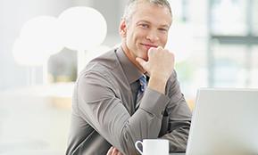 Ein Klient aus der Karriereberatung identifizierte Erfolge für die Jobsuche.