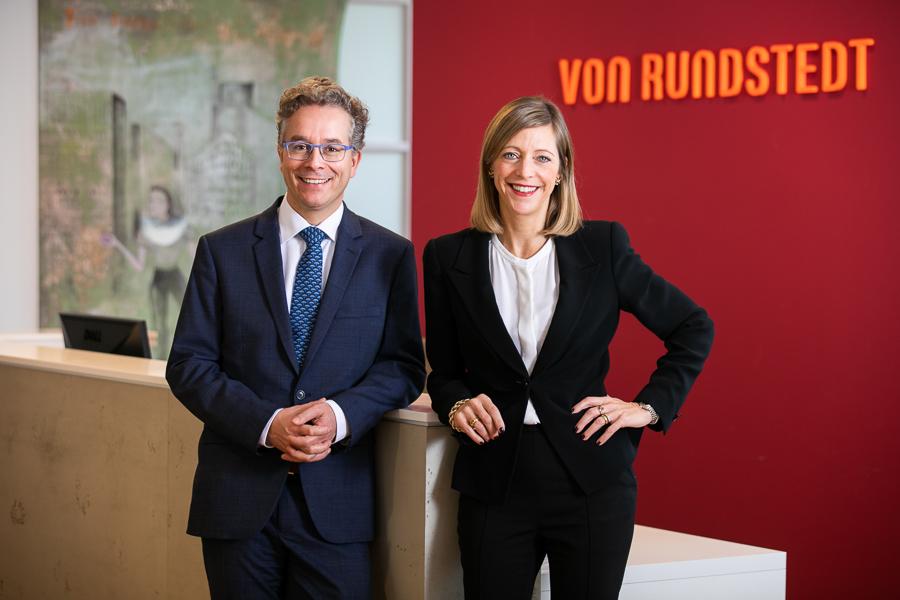 Geschäftsführung von Rundstedt: Sophia von Rundstedt, Dr. Martin Mertes